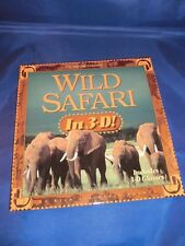 3-D Children's: Wild Safari in 3-D! by Rick Sammon and Susan Sammon (1996, Hardc