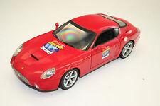 MODELLAUTO 1: 18: FERRARI 575 GTZ ZAGATO, rot, Mattel Hot Wheels 2007, TOP! 035