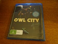 OWL CITY LIVE IN LOS ANGELES BLU-RAY *NEW AND SEALED*