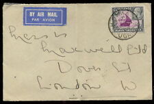 George V (1910-1936) Cover British KUT Stamps