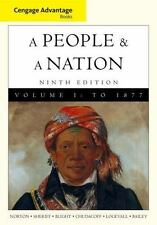 A People and a Nation : A History of the United States by David W. Blight...