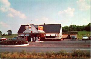 Postcard Stuckey's Pecan Shoppe, Texaco Gas Station in Warrenton, Virginia~4119