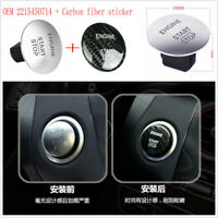 Keyless Start Stop Push Button + Carbon Fiber Sticker Ignition Switch 2215450714