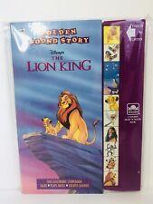 Golden Sound Story Book Disney Lion King 1st Ed., Vintage 1995 RARE Excellent