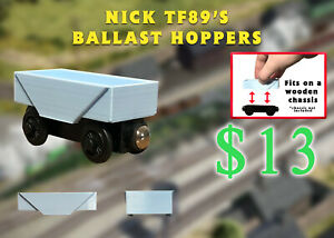 Custom Ballast Hopper Thomas Wooden Railway