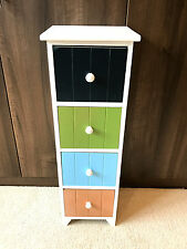 New Childrens Bedroom Furniture Chest of Drawers Kids Nursery Retro Storage Unit