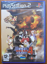 Metal Slug 4, SNK, PlayStation 2, PS2, PStwo, Pal-España ¡¡NUEVO A ESTRENAR!!