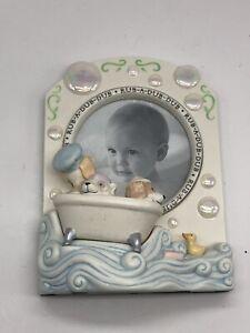 Hallmark Keepsake Rub-A-Dub-Dub Bath Time Baby's Special Moment Picture Frame