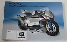 BMW S 1000 RR user guide HP RACE calibrazione Dutch Handleiding