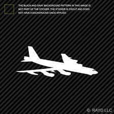 (2x) B-52 Stratofortress Sticker Die Cut Decal Self Adhesive Vinyl bomber b52 V1