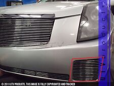 GTG 2003 - 2007 Cadillac CTS 2PC Polished Bumper Accent Billet Grille Grill Kit