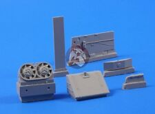 CMK 1/35 Tiger I Fuel Tank and Starboard Cooler (for Tamiya kit) 3124