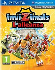 Invizimals L'alleanza PS Vita Sony 711719287865