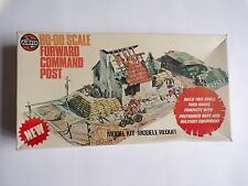 Airfix HO-00 1/72 Scale Forward Command Post - Boxed Vintage Toy Soldier set