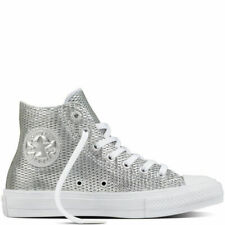 8beb45052c3e Converse Chuck Taylor All Star II Leather Grey White Men Shoes SNEAKERS  155763C UK 7