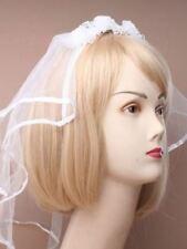 Complementos de novia de color principal blanco
