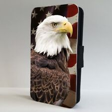 American Flag Bald Eagle FLIP PHONE CASE COVER for IPHONE SAMSUNG