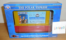 LIONEL 6-83455 POLAR EXPRESS OPERATING BILLBOARD TRAIN LAYOUT ACCESSORY O GAUGE
