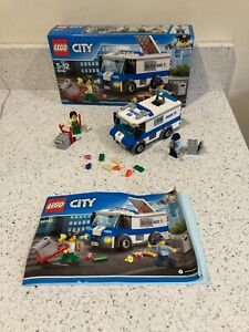 Lego City Money Transporter 60142 Complete With Box and Instructions