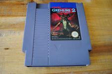 Jeu GREMLINS 2 THE NEW BATCH pour Nintendo NES