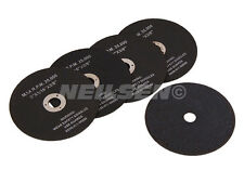 "Neilsen 75 mm 3"" Cut Off Wheel 5 Pack 3/8"" Centre Trou Lame 3 in (environ 7.62 cm) Disques Coupe"