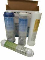 Ersatzfiltern 4 Für Umkehr Osmose Anlage Wasserfilter Filter Kartusche