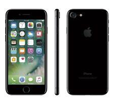 "Apple iPhone 7 256GB 4.7"" Display 4G GSM JET BLACK UNLOCKED Smartphone SRF"
