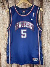 Vintage Nike Swingman New Jersey Nets Jason Kidd #5 Youth Large