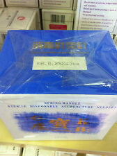 """HBW(Acu-Tek) #36x1.5""""(0.20mmx40mm) bulk acupuncture needle 1000 pcs USA SELLER"""