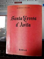 SANTA TERESA D'AVILA MARCELLE AUCLAIR BORLA  1955