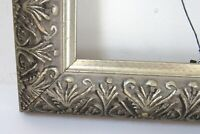 VINTAGE SILVER WOOD FRAME FOR PAINTING 14 X 11 INCH   (c-11)