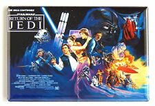 Return of the Jedi FRIDGE MAGNET (2 x 3 inches) quad movie poster star wars
