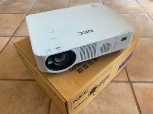 NEC NP-P502HL LASER PROJECTOR (NPP502HL) ONLY 3,501 OUT OF 20,000 HRS USED!