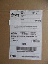 Argos Modern Wardrobes with 2 Doors