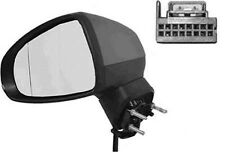 AUDI A1 Left Mirror with turn signals, electric 6 pin connector 8X1857409F9B9