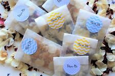 Biodegradable Wedding Throwing Confetti Natural Dried Petal 10 Glassine Bags