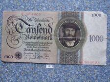 Alemania Germany 1000 rico mark 1924 billete ro 172 Papiergeld rico
