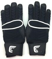 Cutters The Reinforcer Football Gloves Size Large Black