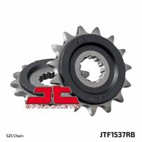 JT Rubber Cushioned Front Drive Motorcycle Sprocket JTF1537RB 16 Teeth