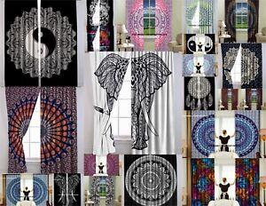 Wall Tapestry Indian Mandala Boho Decorative Queen Curtains Window Drapery Decor