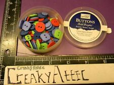 STAMPIN UP BUTTONS BOLD BRIGHTS COLORS 69 PIECES CREAKYATTIC