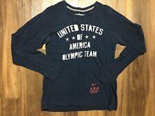 Women's Nike USA olympic Team Long Sleeve Tee Shirt