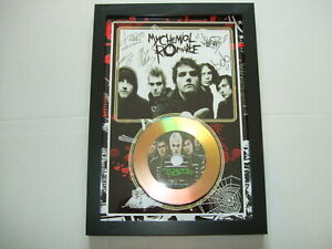 MY CHEMICAL ROMANCE  SIGNED  DISC 765