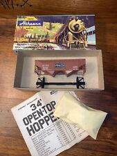 Vintage Rr Layout Athearn Trains in Miniature 5404 Frisco 34 Ft Open Top Hopper