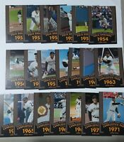 2020 TOPPS HERITAGE WILLIE MAYS 20 Giants Seasons U PICK COMPLETE YOUR SET