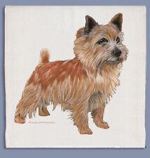 Norwich Terrier Dish Towel