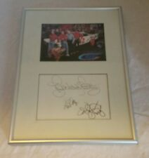 Lee Richard Kyle Petty signed autographed framed Petty racing 50th anniversary