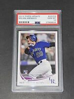 2013 Topps Update PSA 10  Nolan Arenado RC Rookie On Fire