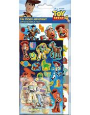 Toy Story 4 FUN Assortment Stickers over 80 Stickers Official licensed product