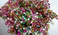 Natural Multi Tourmaline 4mm Round Faceted Cut 20 Pieces Loose Gemstone Lot